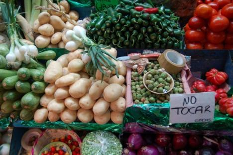 Mercado Benito Juarez, Oaxaca de Juarez, Oaxaca, Mexico