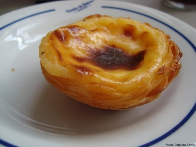 Pasteis de Nata from Pasteis de Belem via Delphine Fortin