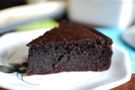 Chocolate Cake Slice